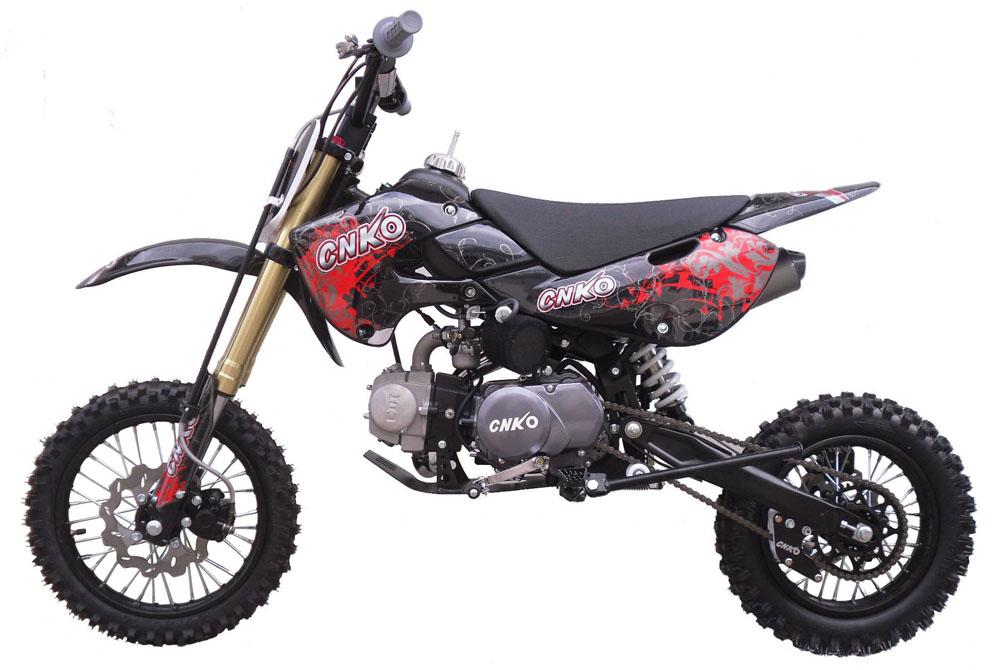 Aufkleber, Dekor Schwarz Rot für Dirt Bike,Pit Bike CNKO-125, XB ...