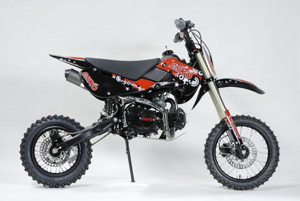 cenkoo 125 125cc 17 14 cross dirt bike pit bike schwarz. Black Bedroom Furniture Sets. Home Design Ideas