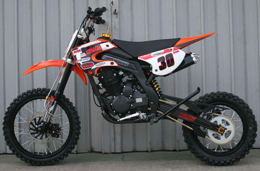 cenkoo xmotos xb 30 250cc 17 14 cross dirt bike orange ebay. Black Bedroom Furniture Sets. Home Design Ideas