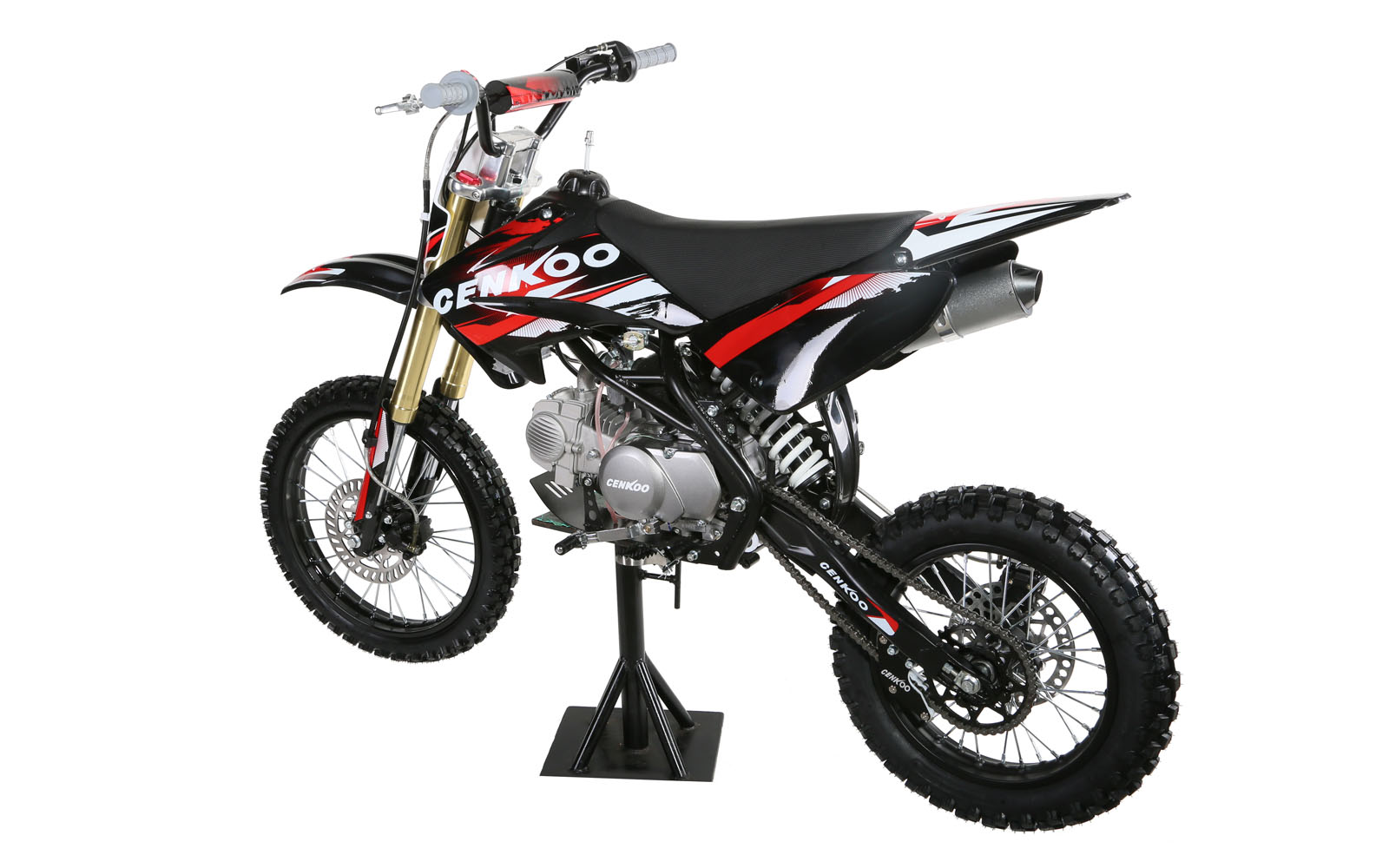 cenkoo 140h 140cc 17 14 lk hlung cross dirt bike pit. Black Bedroom Furniture Sets. Home Design Ideas