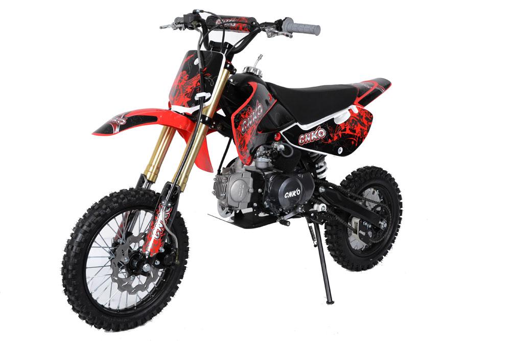 cenkoo cnko 125 125cc 14 12 cross dirt bike pit bike rouge. Black Bedroom Furniture Sets. Home Design Ideas