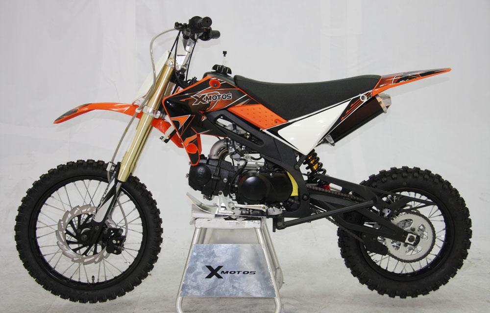 cenkoo xb 33 125cc 17 14 enduro cross dirt bike orange ebay. Black Bedroom Furniture Sets. Home Design Ideas