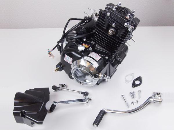 Lifan 50cc Motor mit stehendem Zylinder 4 Takt Kick + Elektrostarter Manuel