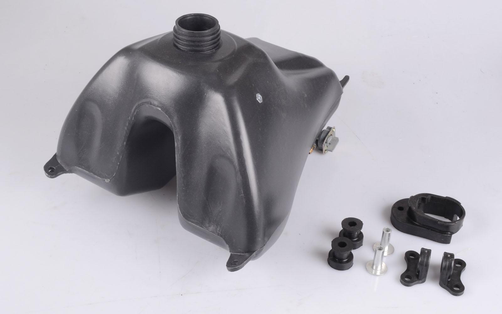 Federbein  AGB XB 300 mm  sw//w HMParts Pit Bike Dirt Bike Verstellbares Gas