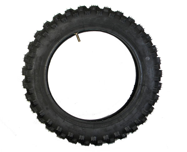 motocross reifen 80 100 12 mit schlauch f pit bike dirt. Black Bedroom Furniture Sets. Home Design Ideas