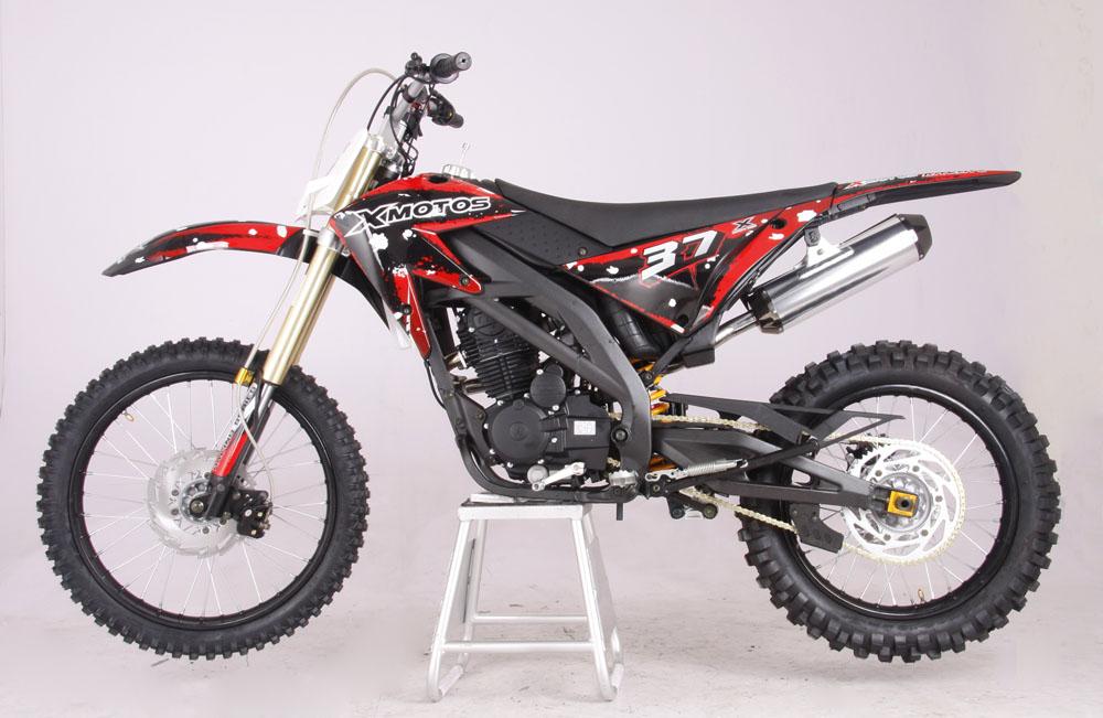 cenkoo xmotos xb 37b 250cc 21 18 cross dirt bike black ebay. Black Bedroom Furniture Sets. Home Design Ideas