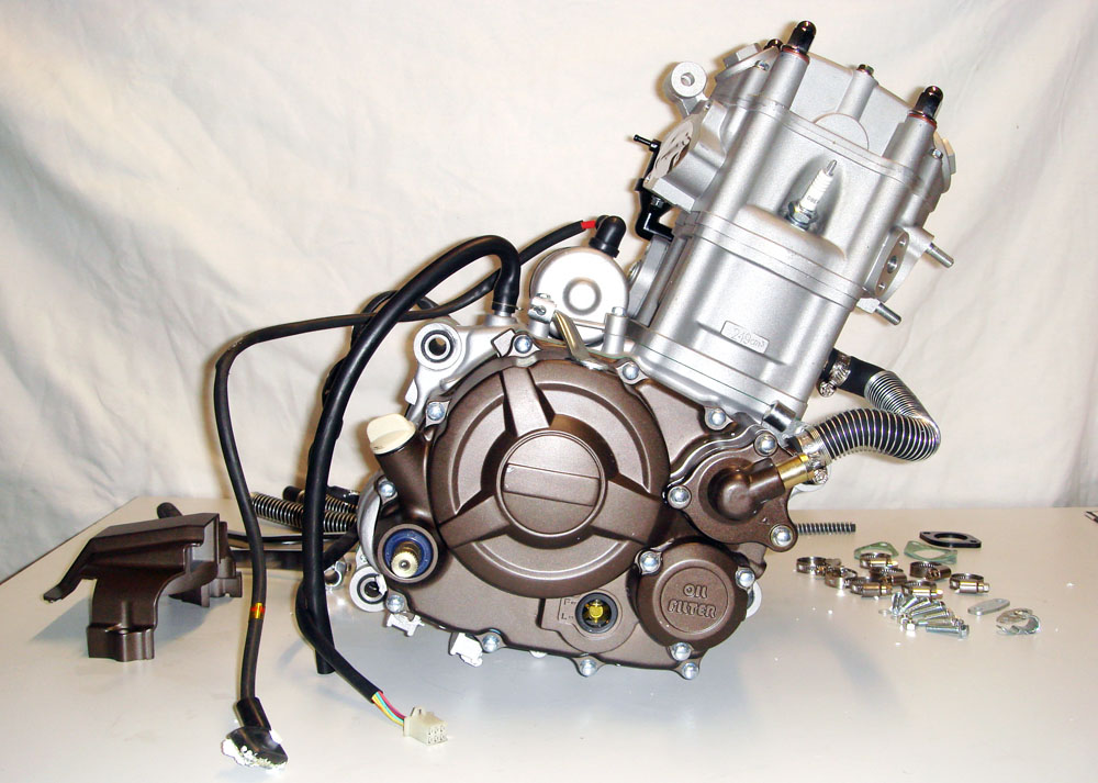 loncin 250cc motor engine lx166mm wasserk hlung f dirt. Black Bedroom Furniture Sets. Home Design Ideas